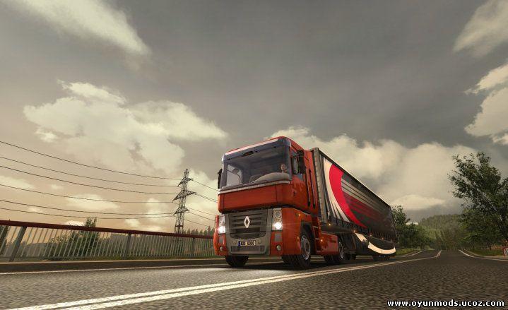 Euro Truck Simulator 2 Türkiye - Euro Truck 2 Turkey,ETS 2 Mod,Scania