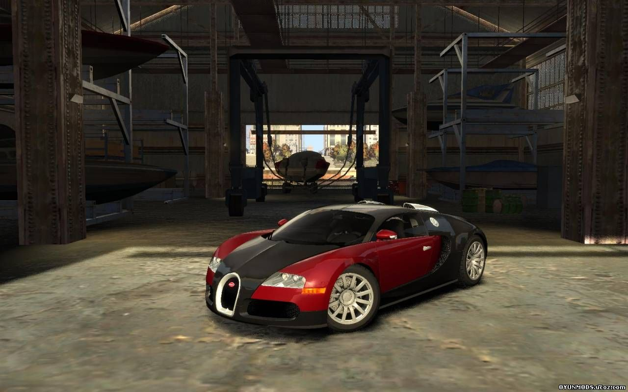 bugatti veyron by shefield v 1 0 araba grand theft auto 4 yama ndir ya. Black Bedroom Furniture Sets. Home Design Ideas