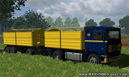 Volvo f12 +trailer - tır ve kamyon - farming simulator 2009 mods